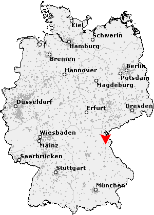Windischeschenbach map