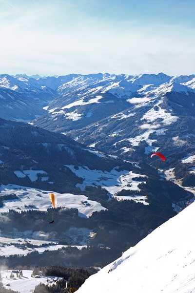 Austria-paragliders